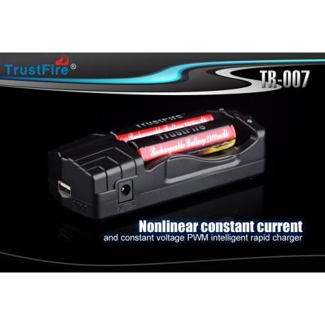 Cargador Trustfire TR-007 2 bahías