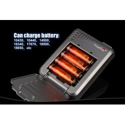 Cargadores de baterías TR-003 de 4 bahías