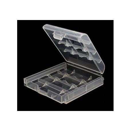 Estuches de 4 Baterías 14500/AA/R6