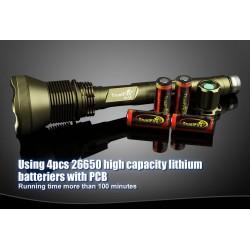 Linterna Trustfire AK-90 Gold