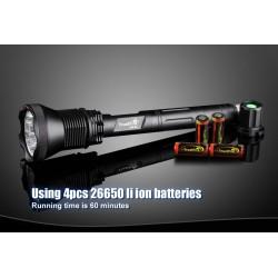 Linterna Trustfire AK-91 18.000 lumenes