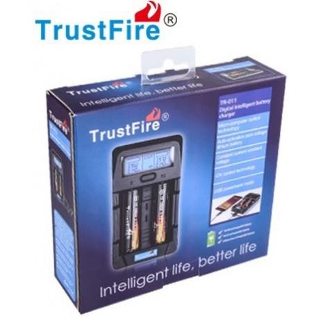 Cargador Inteligente de baterías TR-011 de 2 bahías