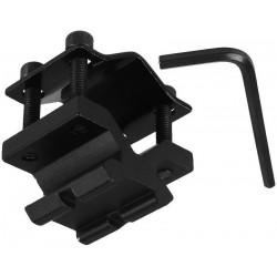Soporte Montura Carril Picantiny 20mm para Laser y Linternas