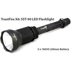 Linterna Trustfire X6