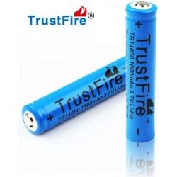 Baterias Litio Protegida Trustfire 3.7v 14650. 1600mA