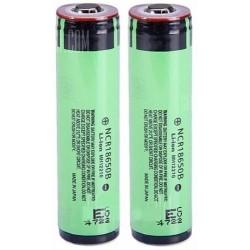 Baterías de Litio 18650 3400mA Panasonic Protegida