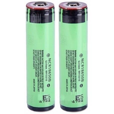 Baterías de Litio 18650 3400mA.Panasonic