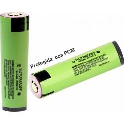Baterías de Litio 18650PF 2900mA Panasonic NCR Protegida