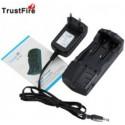 Cargador de 2 Baterías Litio Trustfire TR-007