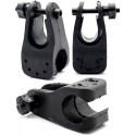 Soporte de Linterna para Bicicletas Clip Universal de 23 a 26mm
