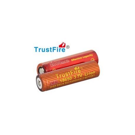 Baterías de Litio IMR18650 2000mA
