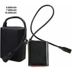 Pack Recambio de Baterías de Litio 18650 8.4v. 2S3P