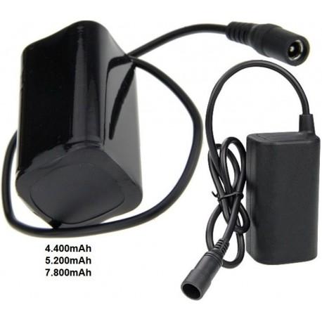 Pack Recambio de Baterías de Litio 18650 8.4v. 2S2P