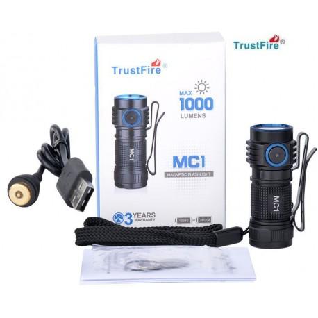 Linterna de Mano Led Trustfire MC1 1000Lm