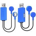 Mini Cargador Magnético USB para Baterías de Litio