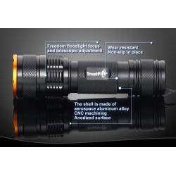 Linterna Zoom Led Xml Trustfire Z3 1.000Lm