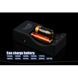 Cargador baterías de Litio Trustfire TR-006 2 bahías