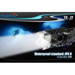 Linterna de Buceo Trustfire J2