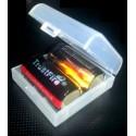 Estuches de 2 Baterías CR123/16340