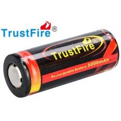 Batería de Litio 26650 Recargable Trustfire