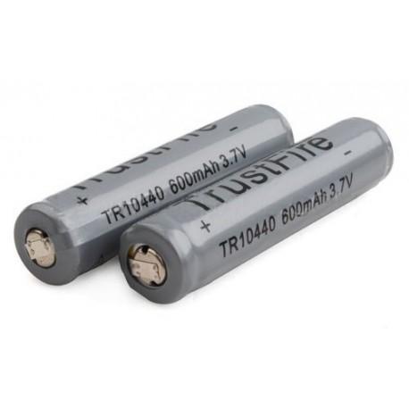 Baterías de Litio Trustfire 10440 Gris