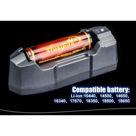 Cargadores de baterías TR-010 de 1 bahía
