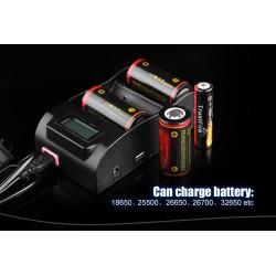 Cargadores de baterías TR-008 3 bahías