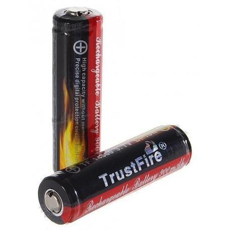 Baterías Litio Trustfire 18650 2400mA Protegidas