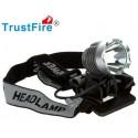 Linterna Trustfire T6 1200 de bicicleta y casco