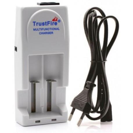 Cargador para 2 Baterías de Litio Trustfire TR-001