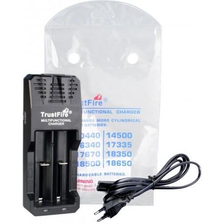 Cargador Trustfire TR-015 2 bahías