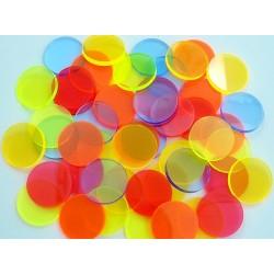 Filtros acrílicos de 52mm para linternas