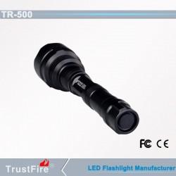 Linterna Trustfire TR-500 monocolor y 3 colores