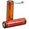 Baterías de Litio 14500 Trustfire IMR 700mA, 15A