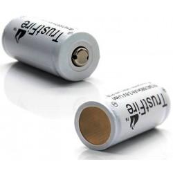 Baterías de Litio 16340 880mAh Gris